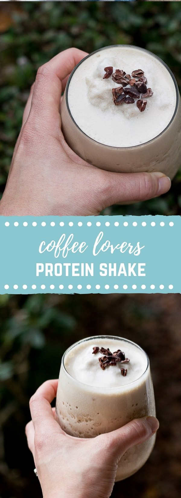 Banana Iced Coffee Protein Shake