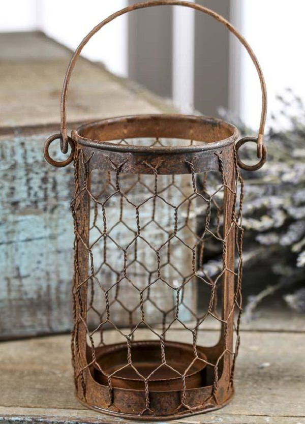 Charming Chicken Wire DIY Craft Ideas check 26