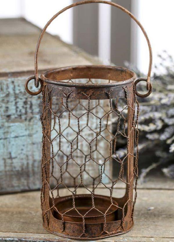 Charming Chicken Wire DIY Craft Ideas check 26