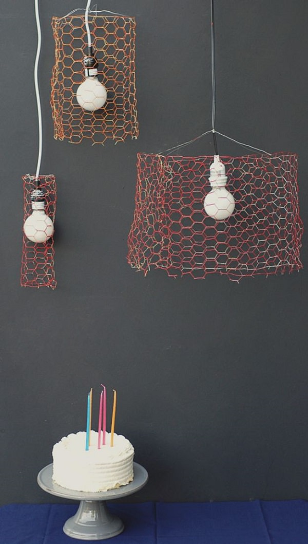 Charming Chicken Wire DIY Craft Ideas11