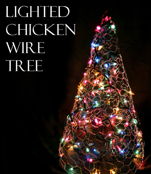 Charming Chicken Wire DIY Craft Ideas19