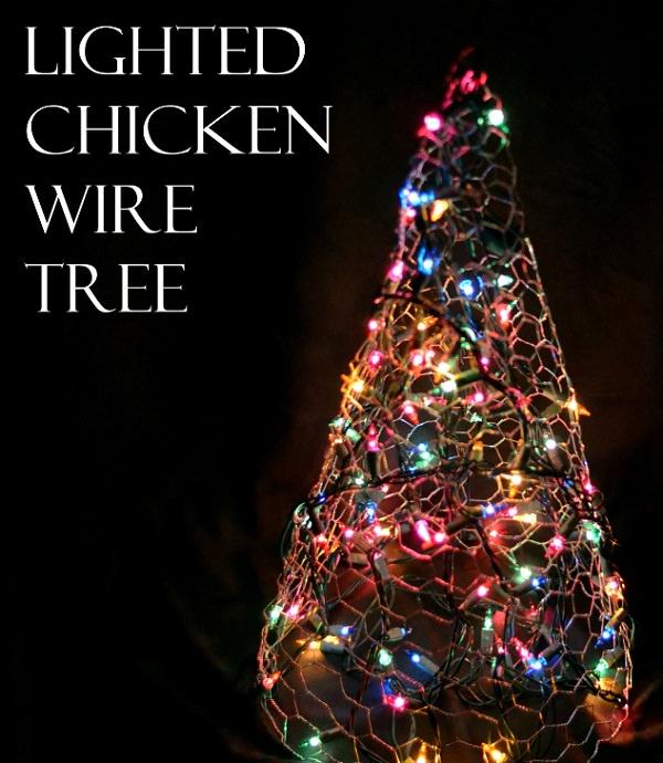 Charming Chicken Wire DIY Craft Ideas19