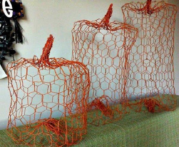Charming Chicken Wire DIY Craft Ideas22