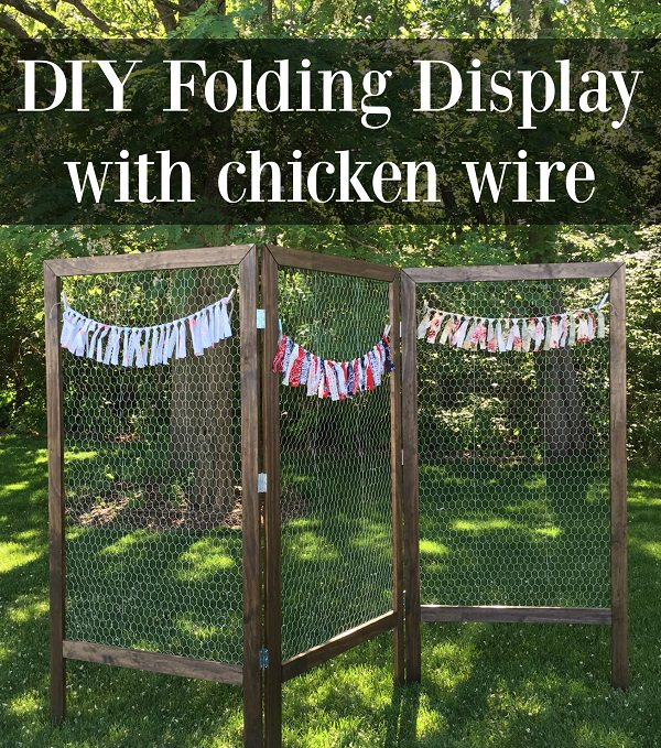 Charming Chicken Wire DIY Craft Ideas27