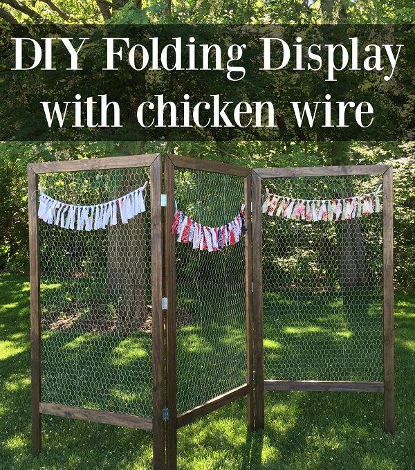 Charming Chicken Wire DIY Craft Ideas27