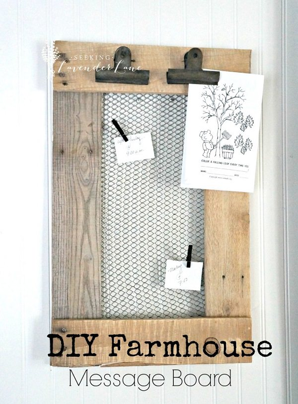 Charming Chicken Wire DIY Craft Ideas5