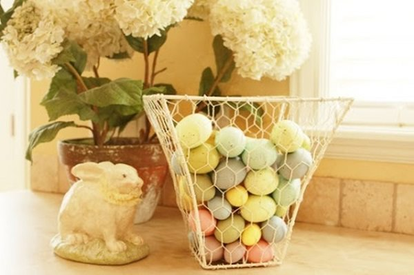 Charming Chicken Wire DIY Craft Ideas7