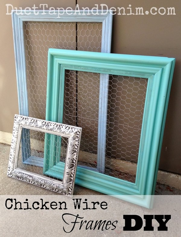 Charming Chicken Wire DIY Craft Ideas8