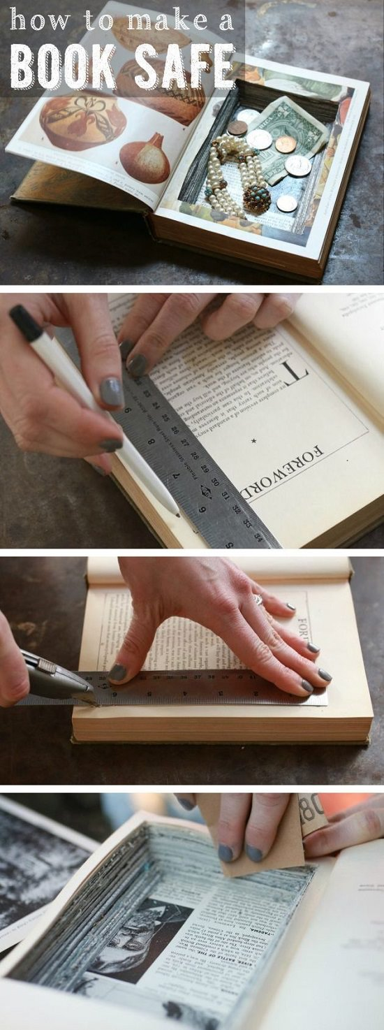DIYProjects with Old Books