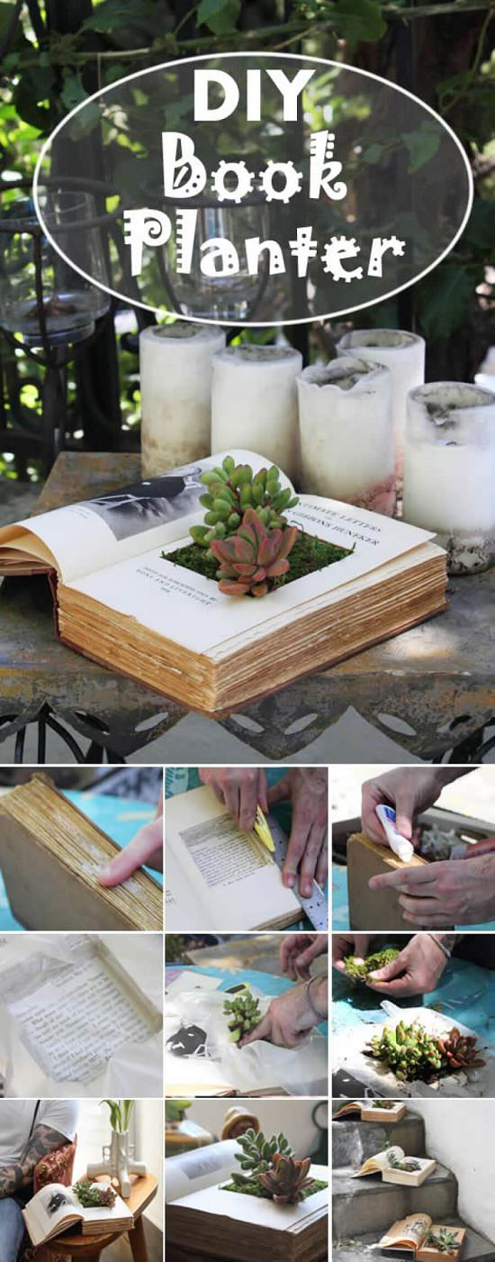 DIYProjects with Old Books3