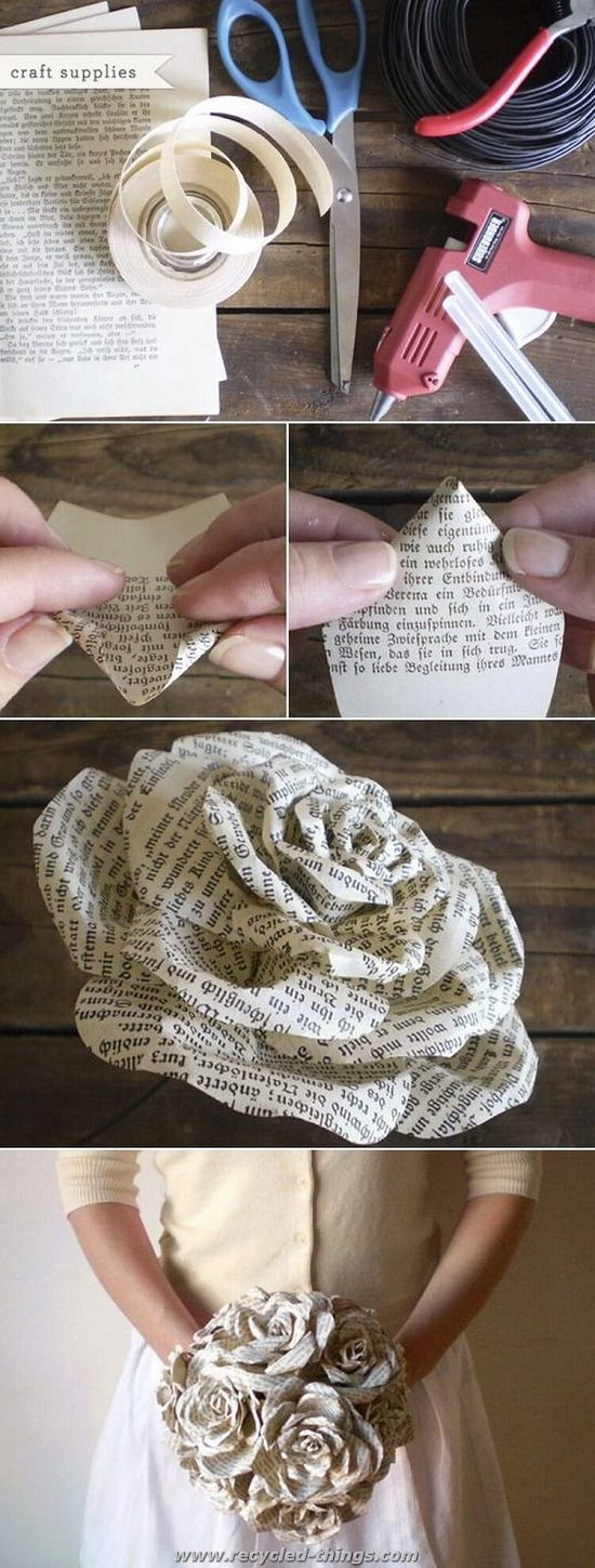 13 Diy Projects With Old Books What Can I Do With Old Books