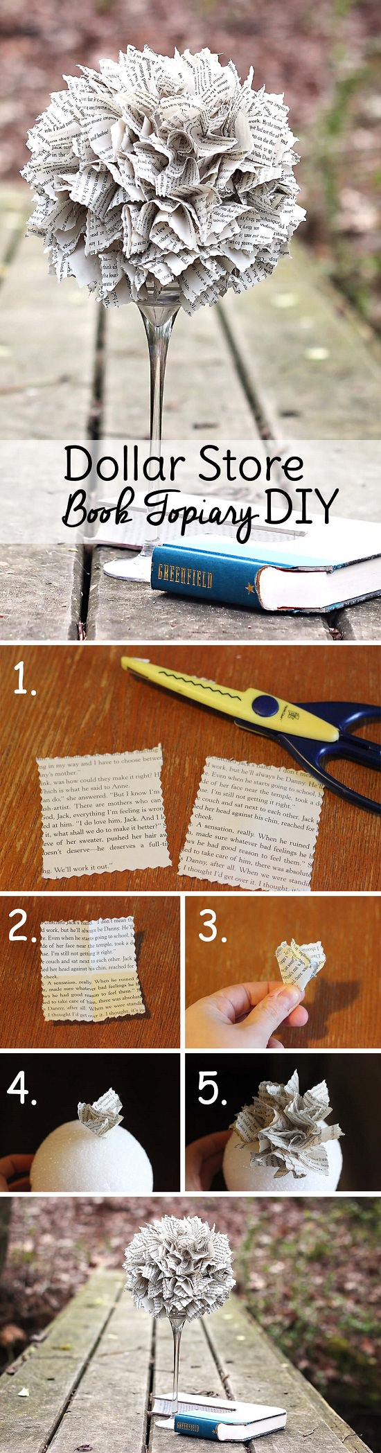 DIY Projects with Old Books5