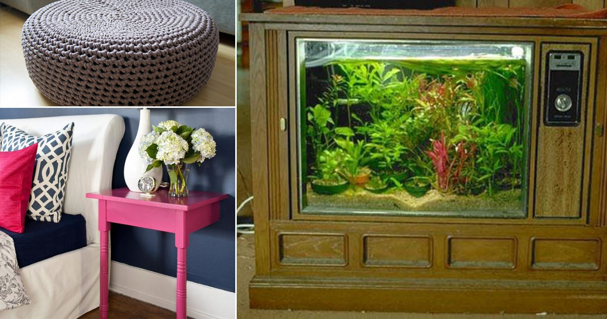 7 Most Unique Repurposed Furniture Projects You Won T