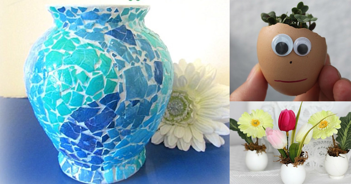 10 Creative Diy Creative Eggshell Craft Ideas Crafts To Do With