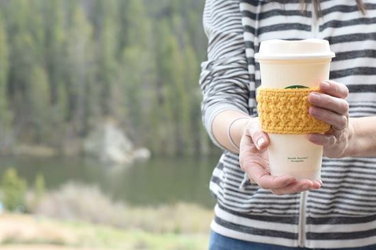 coffee cozy pattern 6