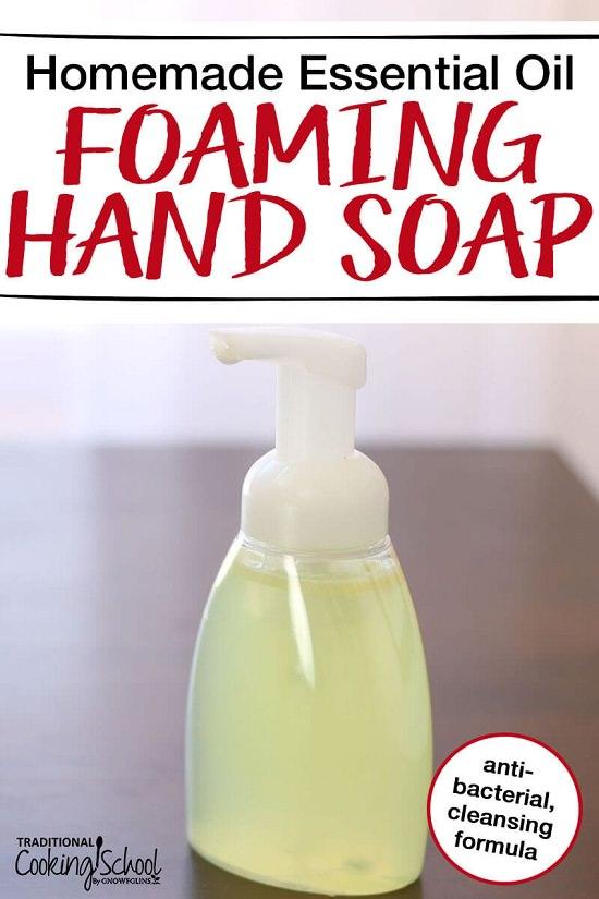 DIY Natural Liquid Hand Soap 7