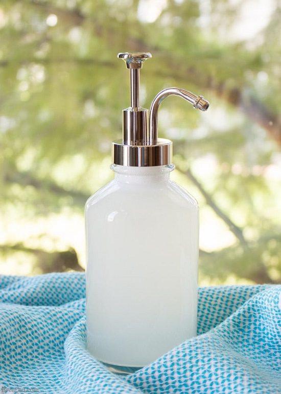 DIY Natural Liquid Hand Soap 10