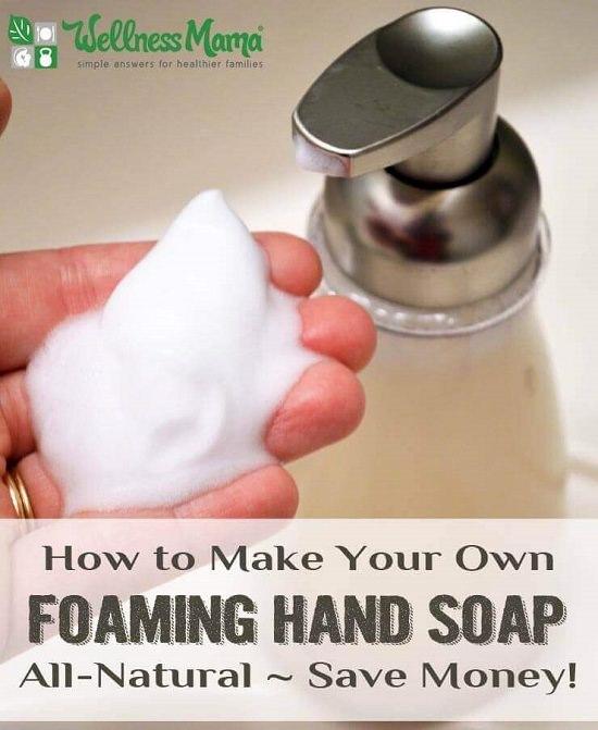 DIY Natural Liquid Hand Soap 1