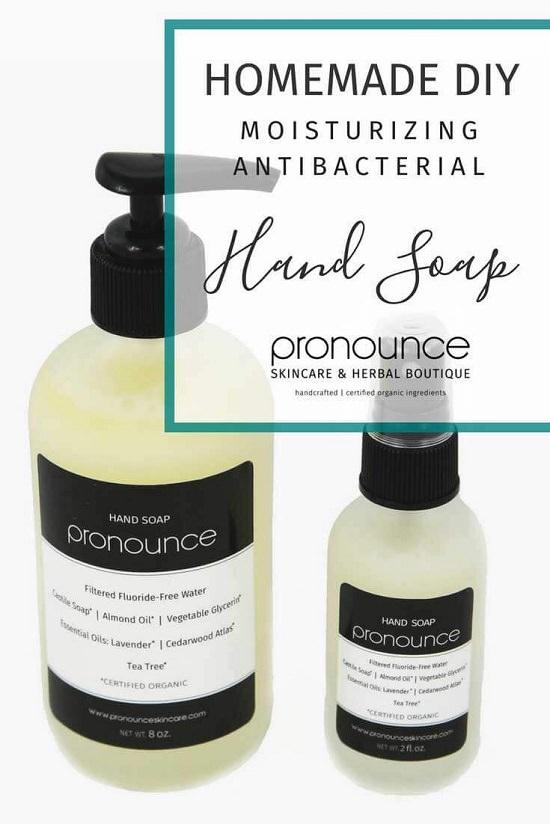 DIY Natural Liquid Hand Soap 3