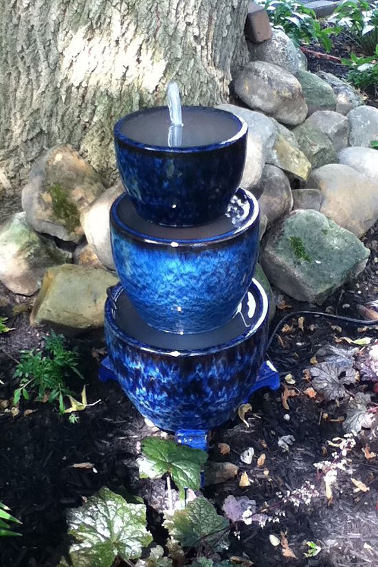 14 Beautiful DIY Container Water Fountain Ideas ⋆ Bright ...
