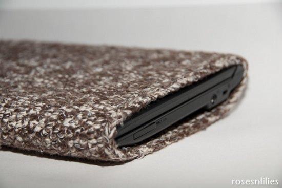 Crochet laptop sleeve pattern