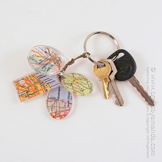 DIY Keychain Ideas 28
