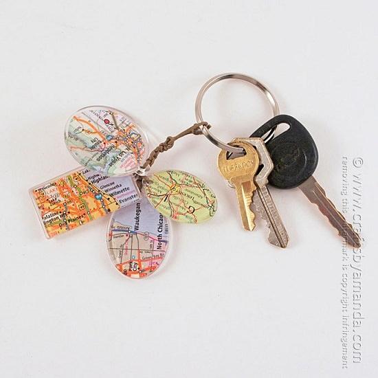 DIY Keychain Ideas 28