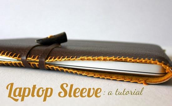 DIY laptop sleeves