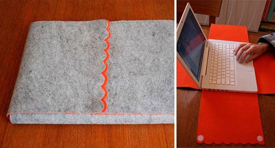 DIY Laptop Pouch