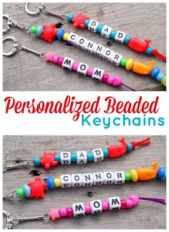 DIY Keychain Ideas 18