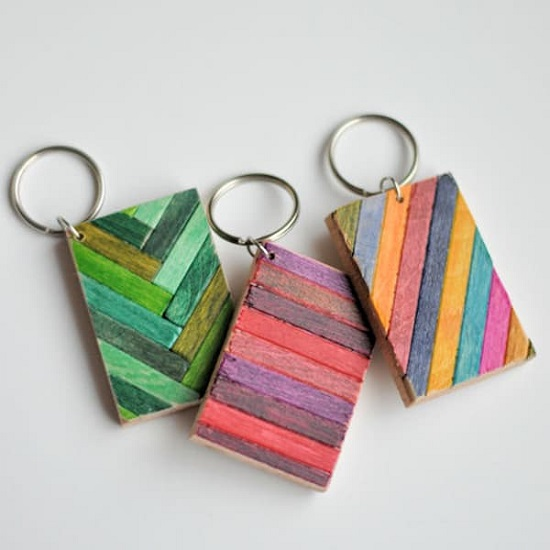 DIY Keychain Ideas 29