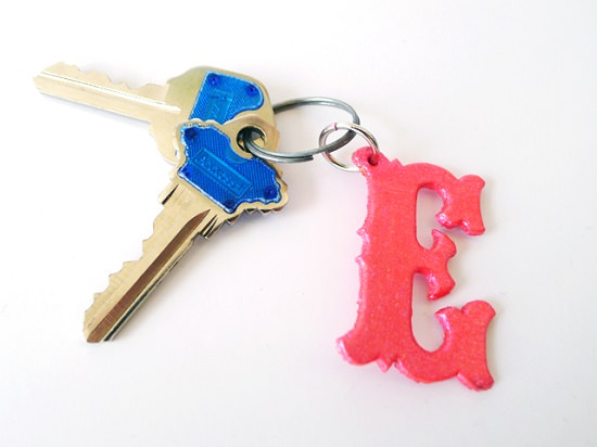 DIY Keychain Ideas 21