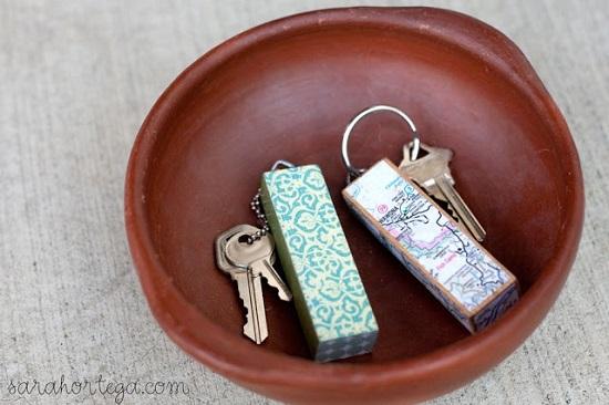 DIY Keychain Ideas 3