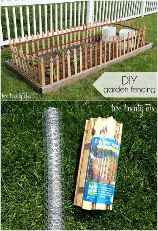 Simple DIY Wood And Wire Fence