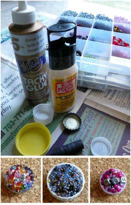 DIY bottle cap crafts22