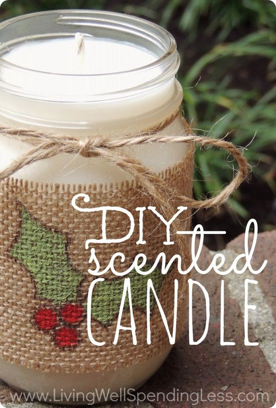 DIY Scented Candles 9