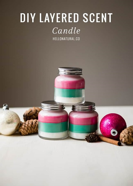 DIY Scented Candles 12