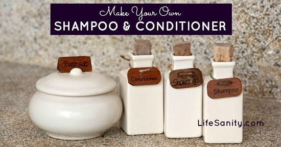 Homemade Shampoo Recipe 2