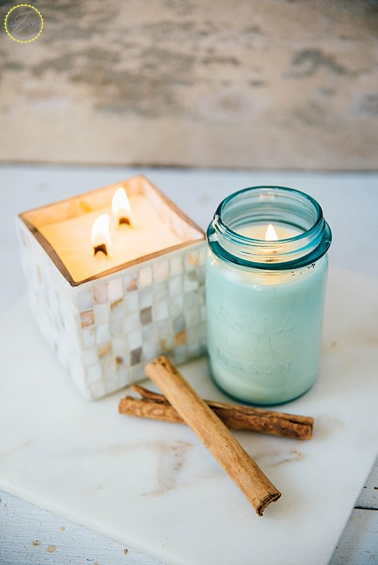 DIY Scented Candles 18