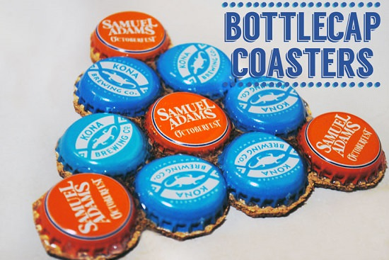 DIY bottle cap crafts 13