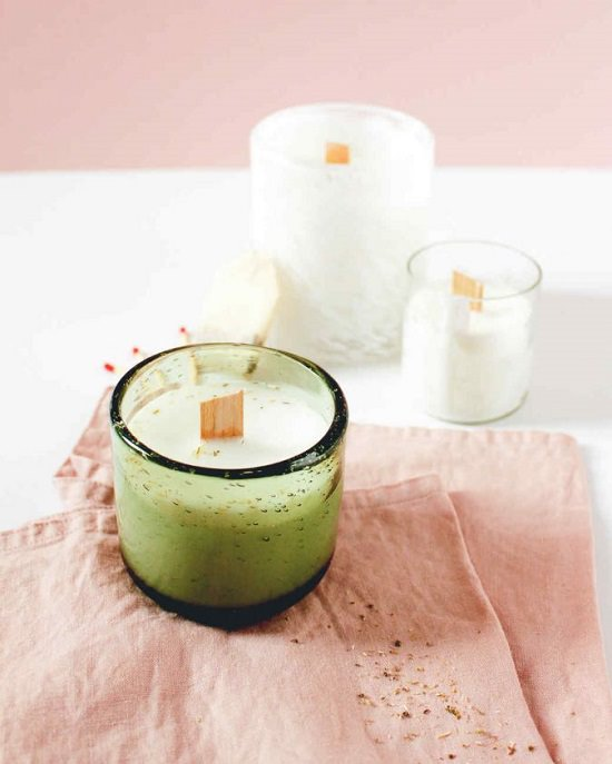 DIY Scented Candles 11