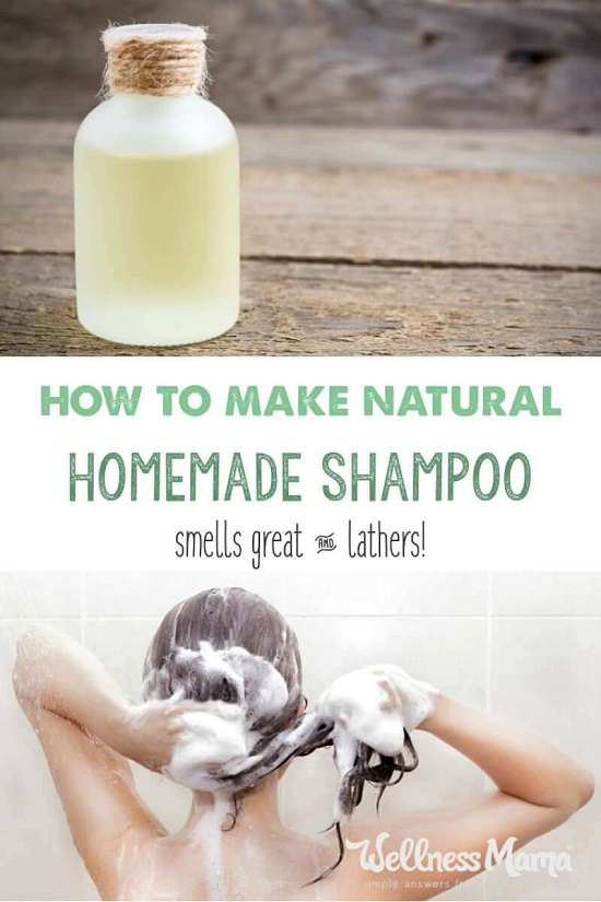 Homemade Shampoo Recipe 3