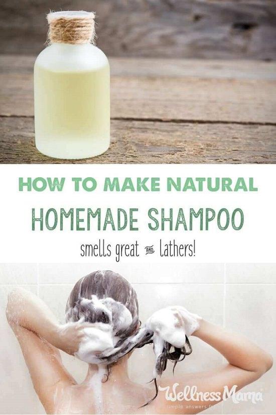 Homemade Shampoo Recipe 3