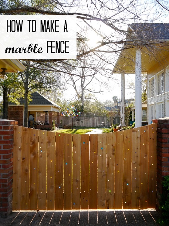 Marble Fence
