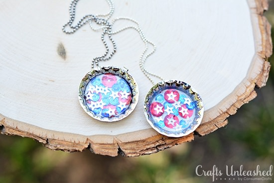 DIY bottle cap crafts 8
