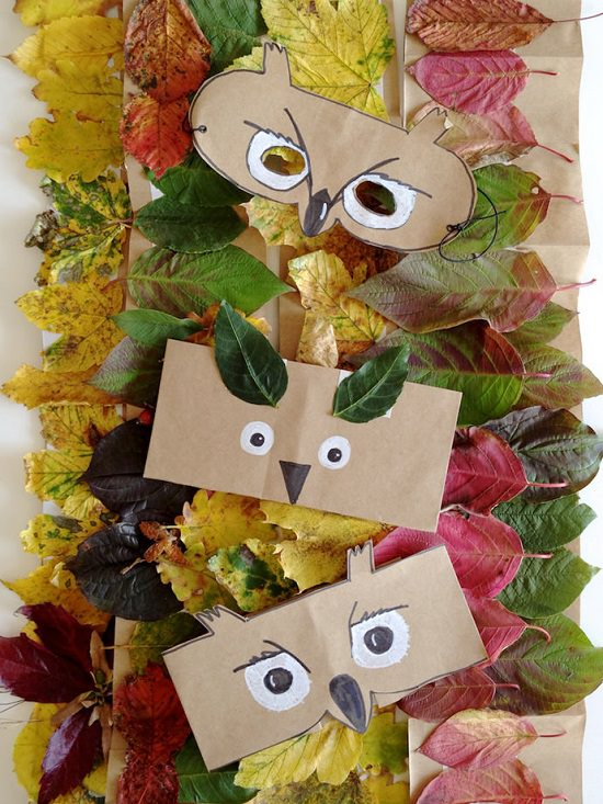 Leaf Crown And Animal Masks