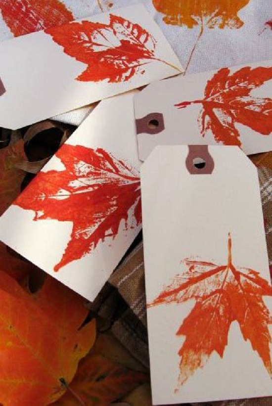 Fall Leaves Art Projects 9