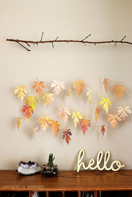 Fall Leaves Art Projects 2