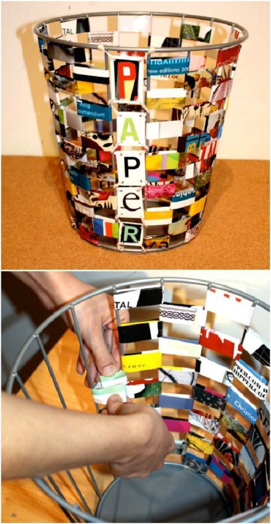 diy old magazine crafts
