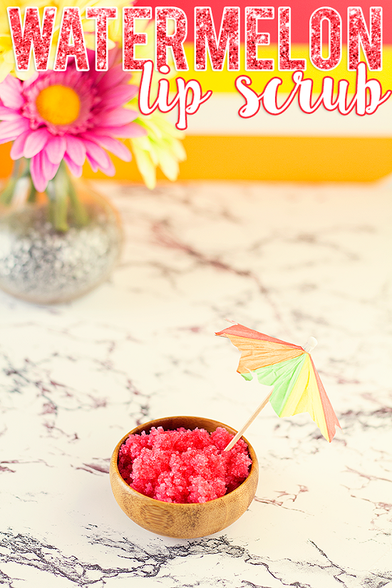 DIY Homemade Lip Scrub 14
